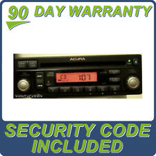 2002 - 2006 ACURA RSX OEM Factory AM FM Radio Stereo Single CD Player w/ Code