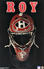 Patrick Roy Mask Montreal Canadiens Original Starline Poster OOP