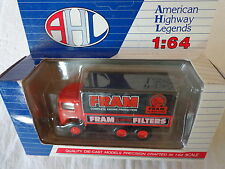 AHL  1:64 DIE-CAST MACK CJ FRAM OIL AIR FUEL FILTERS DELIVERY TRUCK