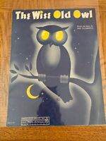 The Wise Old Owl Sheet Music