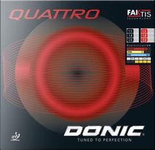 DONIC Tischtennis Belag Quattro / A´conda Soft / Medium rot/schwarz NEU / OVP