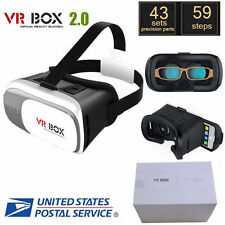 Universal 3D Virtual Reality VR Box Glasses Headset Helmet adult 3D TV Glasses