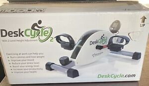 DeskCycle 2 Under Desk Cycle, Adjustable Legs Pedal Exerciser (OPEN BOX UNIT)!!