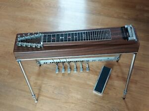 MSA-1 neck 10 string Pedal Steel Guitar-Built On A Single neck frame-with case