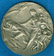 1915 Belgium Medal Issued for Aid to Poor Children, Anvers, by Edward Deckers