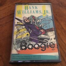 Hank Williams Jr Born to Boogie Cassette (1987) Plays Good! Free Shipping!