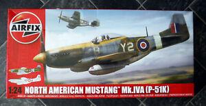 1/24 Airfix Mustang Mk.IVA (P-51K), Parts Sealed