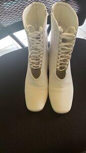 Daniella Shevel White Boots