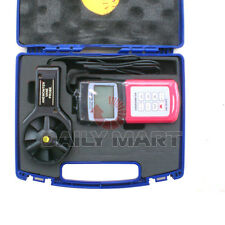 New Am4836V Multi-function Digital Anemometer Air Flow Wind Speed Tester °C
