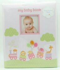 My Baby Book by L'il Peach - Pink Girl Animal Train