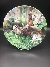 The Rabbit Knowles 8 1/2 Inch Collector Plate ~