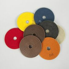 NEW Diamond Resin Five Step Polishing Pads  Wet/Dry 125mm For Concrete Polishing