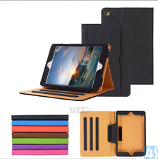 TAN Premium Leather Wallet Case Cover iPad Air 1 2 Pro 12.9 (1st/2nd) 5th 6thGen