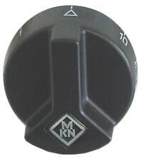 Knebel 1-10 für Energieregler für Achse ø 6x4,6mm ø 53mm schwarz