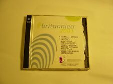 2001 Encyclopedia Britannica 2001 Standard Edition CD 83,000 articles 1,300 Maps