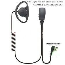 Auricular Para Maxon SL25 SL55 Serie D-oreja portátil con PTT ligero