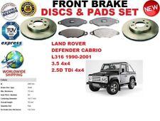 für Land Rover Defender L316 Cabrio 90-01 Vorderbremse Scheibensatz +