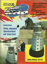 RARE Back Issue - DOCTOR WHO MAGAZINE #141 - Oct. 1988 - Daleks - Reader Copy