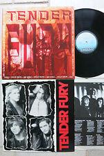 TENDER Fury - 2 LP: → Same LP & → Garden of Evil LP Posh Boy/XXX
