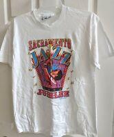 Vtg 1994 Sacramento Jazz Jubilee CA Festival Souvenir T-Shirt White Large USA