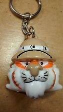 1997 Exxon Mobil Keychain Keyring Key Chain Ring Put a Tiger in Your Tank