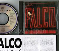 FALCO Emotional JAPAN CD 32XD-535 w/6-page PS BOOKLET+INSERT No OBI Free S&H/P&P