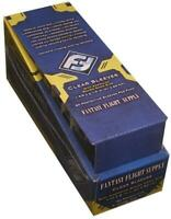 FFG 50 CLEAR MINI AMERICAN CARD SLEEVES 41X63MM - YELLOW LABEL (PACK OF 10)