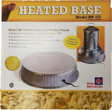 Farm Innovators Electric Heater Base for Metal Chicken Waterers Sku#085045001250