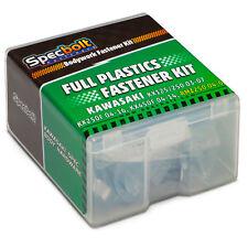 KAWASAKI KXF Full Body Plastics Bolt Kit for all 04-16 KF250F and 06-14 KX450F