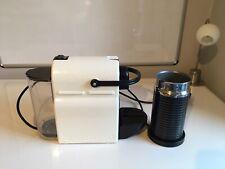 Krups Nespresso Inissia Coffee Maker - White and Nespresso Milk Frother