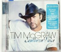Southern Voice by Tim McGraw NEW! CD FREE SHIP! GHOST TOWN, STILL,GOOD GIRLS