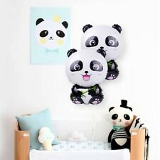 Cute Panda Balloon Foil Ballon Happy Birthday Party Decor Kids Inflatable Toy