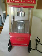 Nostalgia Electrics Old Fashioned Movie Time Air Popcorn Machine Healthy Snack