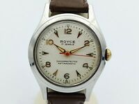 ROYCE Wristwatch 17 Jewels Shockprotected Antimagnetic Vintage Watch Swiss Made
