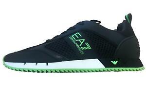 EA7 Emporio Armani 7 - Scarpe Uomo Nero Sneakers Logo
