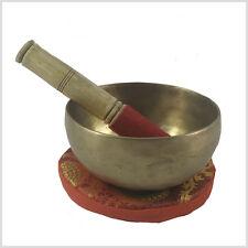 Tibet Sonoro incl. Cuscino 250 Gramm Fatto a mano Testa ciotola Chakra