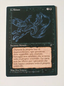 The Abyss | Italian Leyends | Magic The Gathering MTG Mint/NM Rare