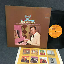JIM REEVES BLUE SIDE OF LONESOME  33 RPM LP RCA RECORDS 1967 ORIG. NICE SHAPE