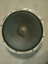 VINTAGE PIONEER PW-382A-3, CS-63DX WOOFER PARTED FROM WORKING SPEAKER