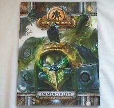 Iron Kingdoms Immortality Role Playing Game RPG adventure family fun gaming