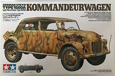 TAMIYA 35235 GERMAN STEYR TYPE 1500a kommandeurwagen 1/35 MODELLO KIT PENNINO