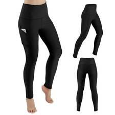Pantalones Yoga Mujer con Bolsillos Leggings Cintura Alta Mallas Deporte Correr