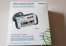 100% Original Nokia N97 CR-116 con Nokia Soporte para Coche Cargador de coche DC-6