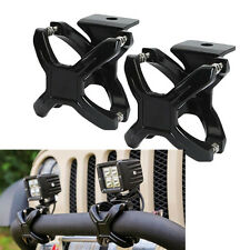 "2"" -3"" pouces bull bar roll bar mount support x clamps for off road light led bar"
