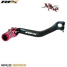 RFX Forged Gear Lever Honda CRF250 04-09 Black and Red CRF250X 04-14