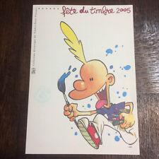 DOCUMENT PHILATELIQUE POUR LA FETE DU TIMBRE 2005 - ZEP - TITEUF