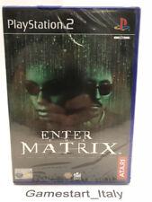 ENTER THE MATRIX - PS2 - VIDEOGIOCO NUOVO SIGILLATO - NEW SEALED PAL UK