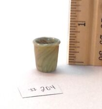 Dollhouse miniature 1/12th scale hand blown glass vase #204