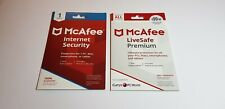 McAfee LiveSafe Premium 1 Year Subscription for Win/Mac/iOS/Android
