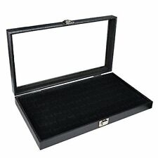 Black Cuff Links Storage Display Box Cuff Links Case Cufflinks Organizer